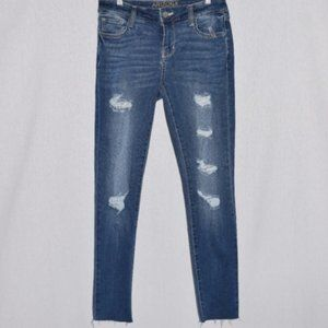NWT Arizona Jean Co. Distressed Jeggings Size 3